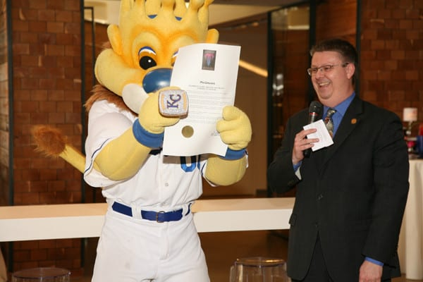 Mayor Pro Tem Scott Wagner and Sluggerrr